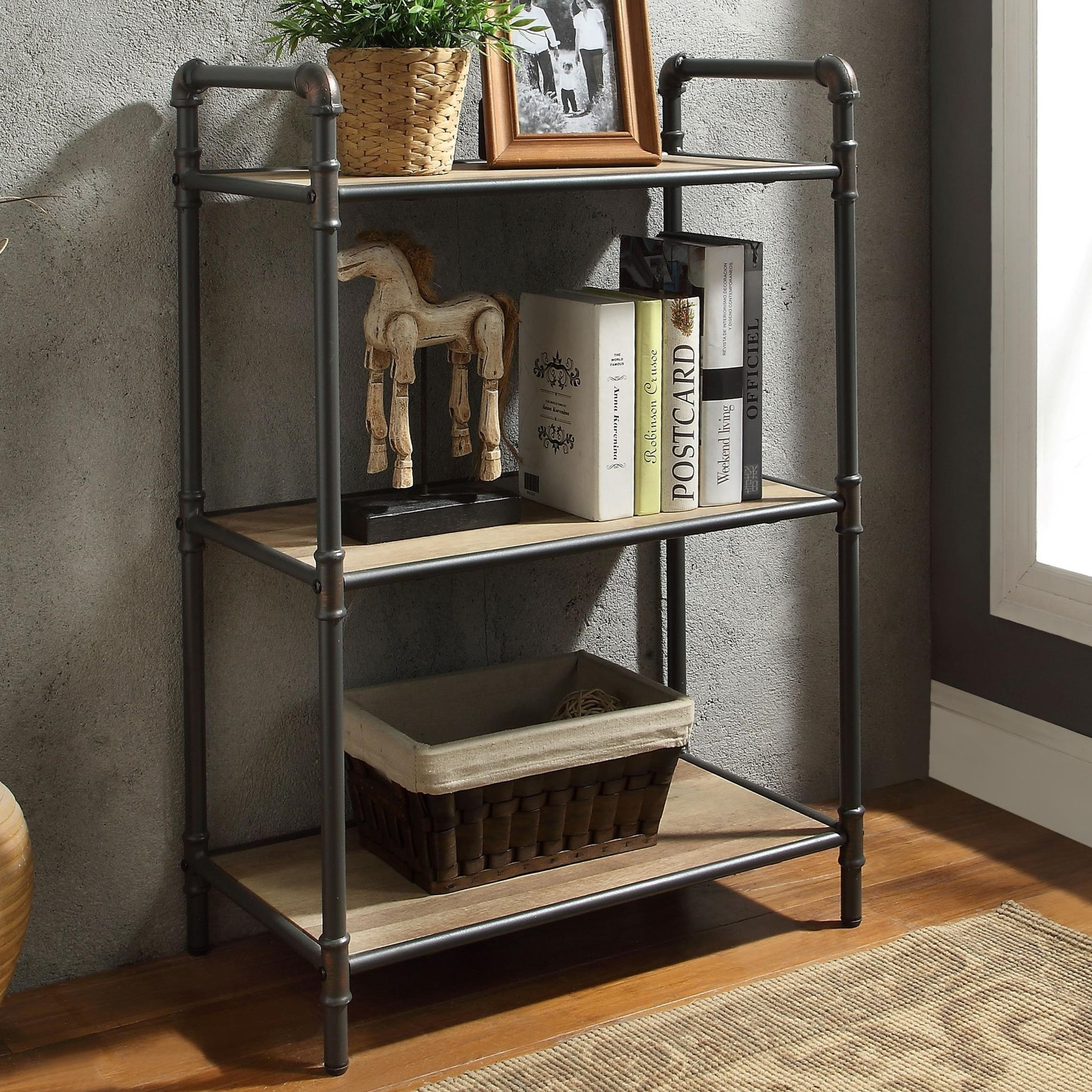 Itzel Bookshelf by Acme Furniture at Carolina Direct