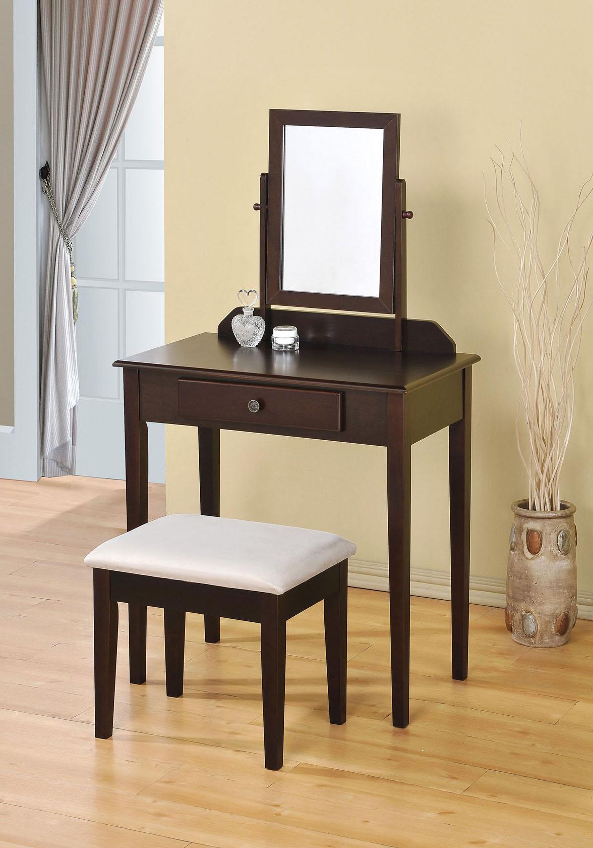Acme Furniture Jamy 2-Piece Vanity Set - Item Number: 90040