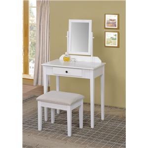 Acme Furniture Jamy  2-Piece Vanity Set