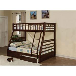 Acme Furniture Jason Twin Over Full Bunkbed