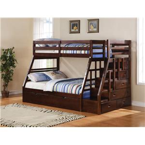 Acme Furniture Jason Bunkbed & Trundle