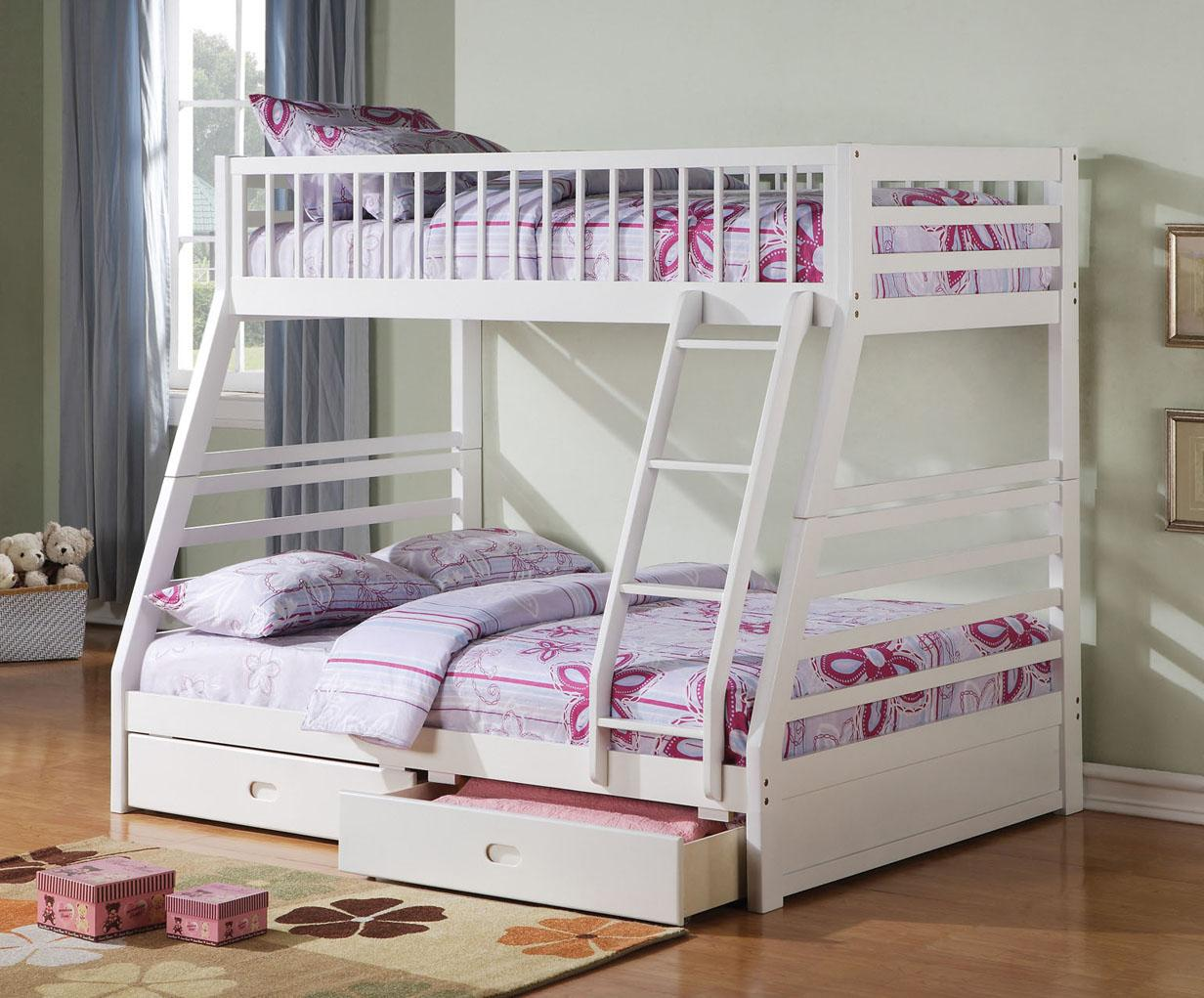 Acme Furniture Jason  Twin Over Full Bunkbed - Item Number: 37040