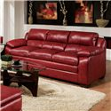 Acme Furniture Jeremy Stationary Casual Sofa - Item Number: 50595