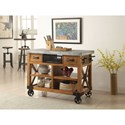 Acme Furniture Kailey Kitchen Cart - Item Number: 98182