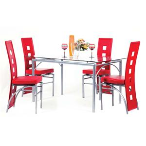 Acme Furniture Kathie Five Piece Dining Set
