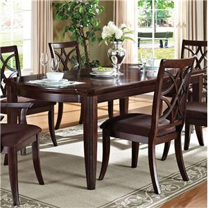 Acme Furniture Keenan Formal Dining Table