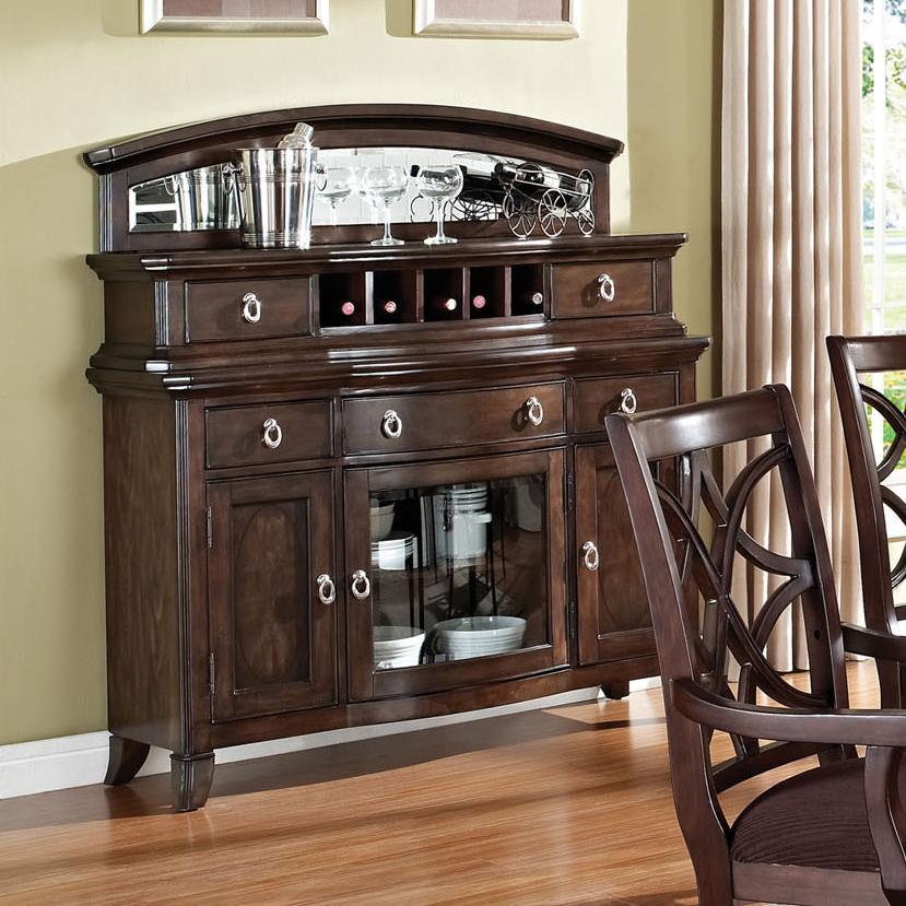 Wine Rack Dining Table: Acme Furniture Keenan 60259 Transitional Dining Server