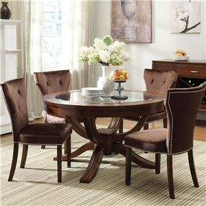 Acme Furniture Kingston 5-Piece Dining Table and Chair Set