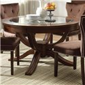 Acme Furniture Kingston Round Formal Dining Table - Item Number: 60022