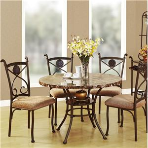 Acme Furniture Kleef 5-Piece Dining Table and Chair Set
