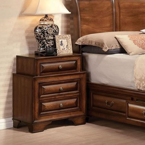 Acme Furniture Konane Three-Drawer Nightstand - Item Number: 20456