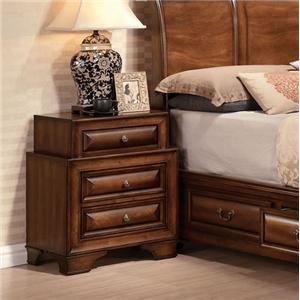 Acme Furniture Konane Three-Drawer Nightstand