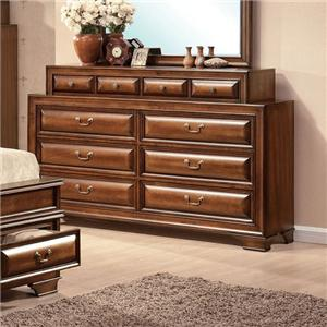 Acme Furniture Konane 10-Drawer Dresser