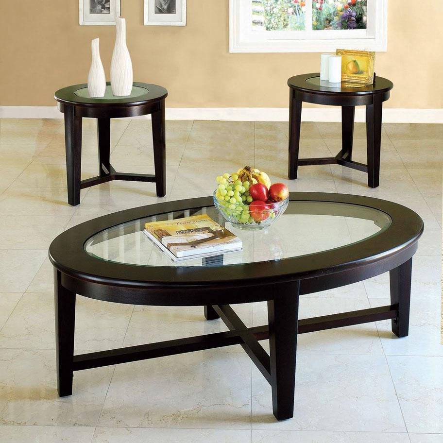 Acme Furniture Kort 3 Piece Coffee and End Table Set - Item Number: 18458
