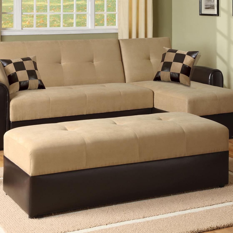Acme Furniture Lakeland Ottoman - Item Number: 05777