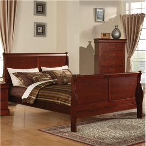 Acme Furniture Louis Philippe III Queen Bed