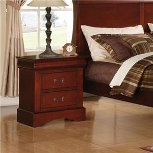 Acme Furniture Louis Philippe III Nightstand