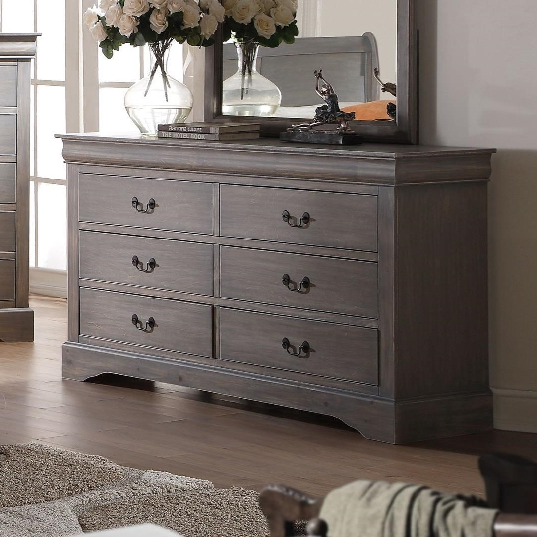 Acme Furniture Louis Philippe Iii 25505 Transitional 6