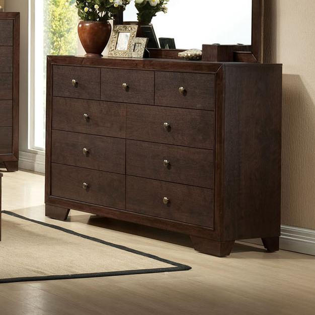 Acme Furniture Madison 9 Drawer Dresser Michael 39 S Furniture Warehouse Dresser