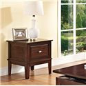 Acme Furniture Mahir  Transitional One Drawer End Table