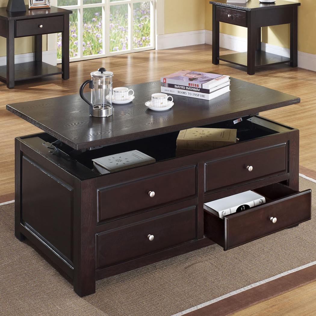 Acme Furniture Malden 80257 Contemporary Lift Top Coffee