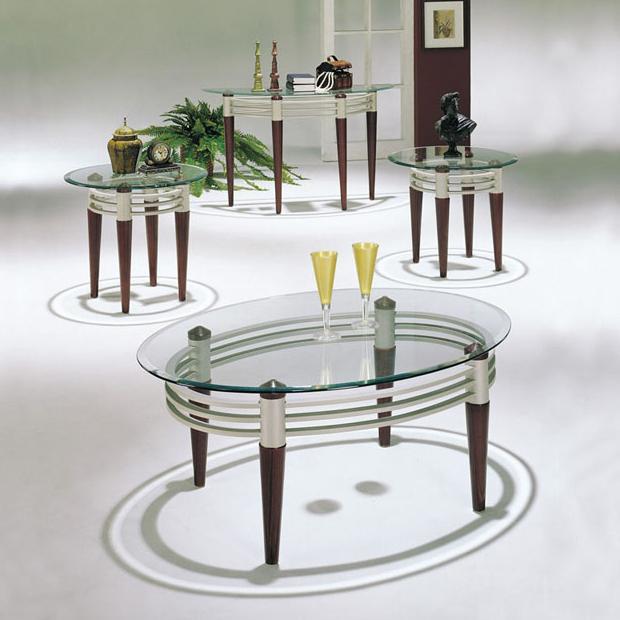 Acme Furniture Marseille 3Pc C/E Table Set - Item Number: 08137