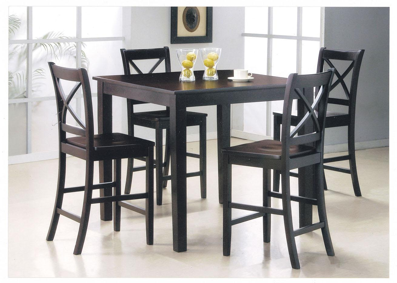 Acme Furniture Martha 5-Piece Counter Height Dining Set - Item Number: 07550
