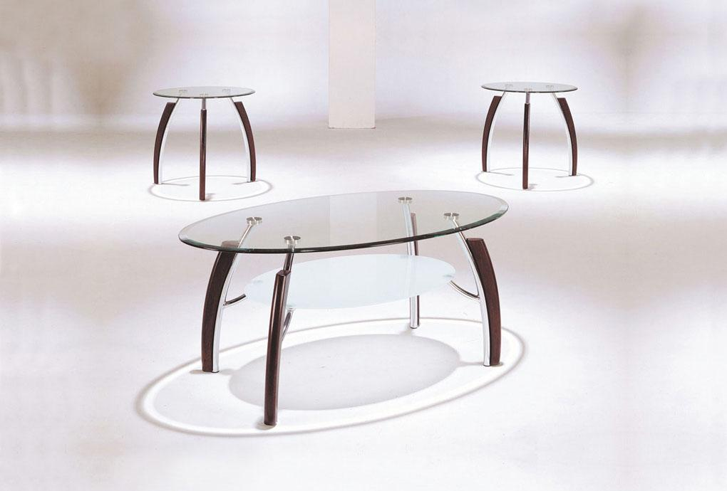 Acme Furniture Martini 3 Piece C/E Table Set - Item Number: 08188