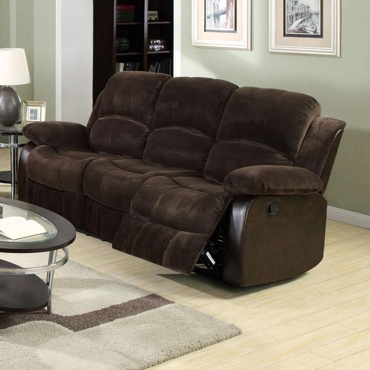 Acme Furniture Masaccio Reclining Sofa - Item Number: 50470