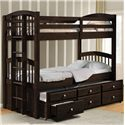Acme Furniture Micah Twin Bunk Bed W/ Trundle and Drawer Storage - Item Number: 40000