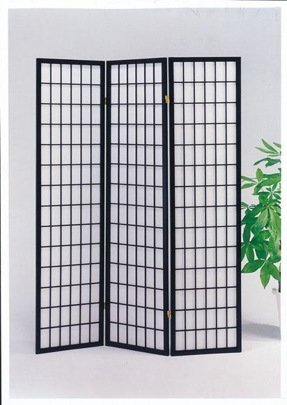 Acme Furniture Naomi 3-Panel Wood Screen - Item Number: 02284