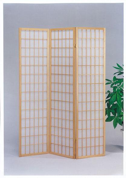 Acme Furniture Naomi  3-Panel Wood Screen - Item Number: 02285