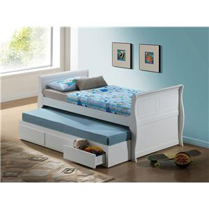 Acme Furniture Nebo Twin Bed & Trundle