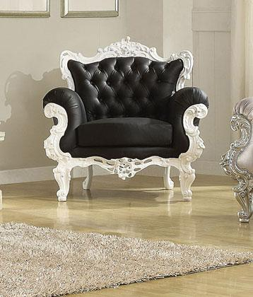 Acme Furniture Nels Neo Classical Accent Chair - Item Number: 59138