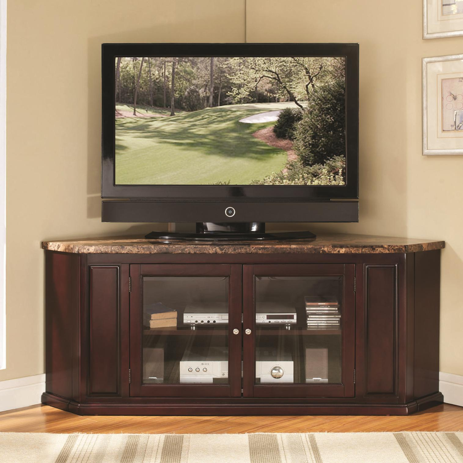 Acme Furniture Nevin Corner TV Stand - Item Number: 91055