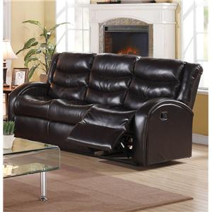 Acme Furniture Noah Reclining Sofa