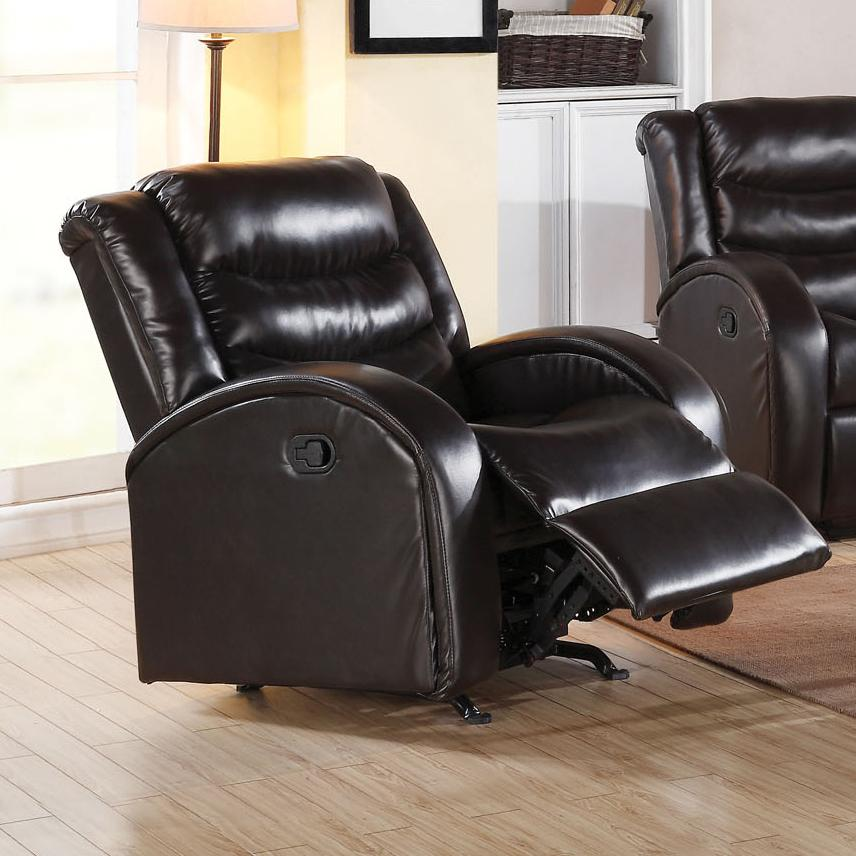 Acme Furniture Noah Rocker Recliner - Item Number: 50832-Espresso