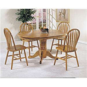 Acme Furniture Nostalgia 5-Piece Dining Table and Chair Set