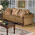Acme Furniture Olysseus Stationary Sofa - Item Number: 50310