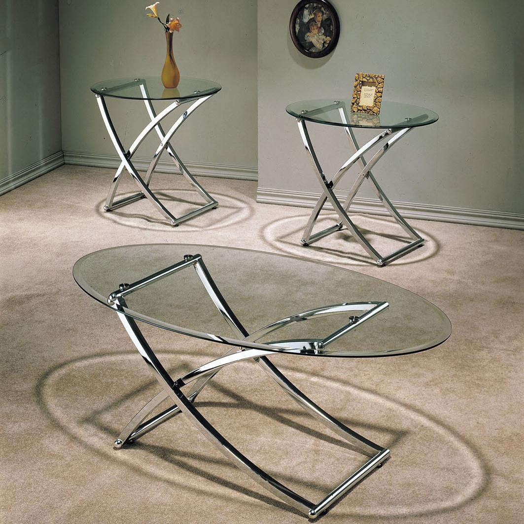 Acme Furniture Paradise 3 Piece Occasional Set - Item Number: 07846
