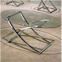 Acme Furniture Paradise 3 Piece Beveled Glass Top Occasional Set - Cocktail Table Shown