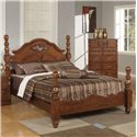 Acme Furniture Ponderosa Queen Poster Bed - Bed Shown May Not Represent Size Indicated