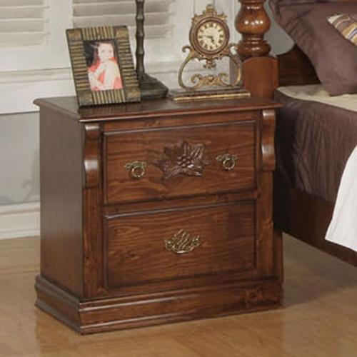 Acme Furniture Ponderosa Nightstand - Item Number: 01723