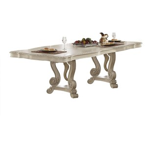 Dining Table w/Double Pedestal