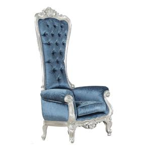 Acme Furniture Raven  Neo Classical Upholstered Accent Chair