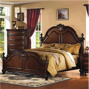 Acme Furniture Remington Traditional Queen Bed