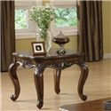 Acme Furniture Remington Brown Cherry End Table - Item Number: 80065
