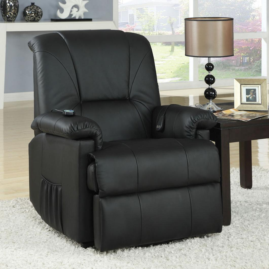Acme Furniture Reseda Recliner with Massage Functions - Item Number: 10650