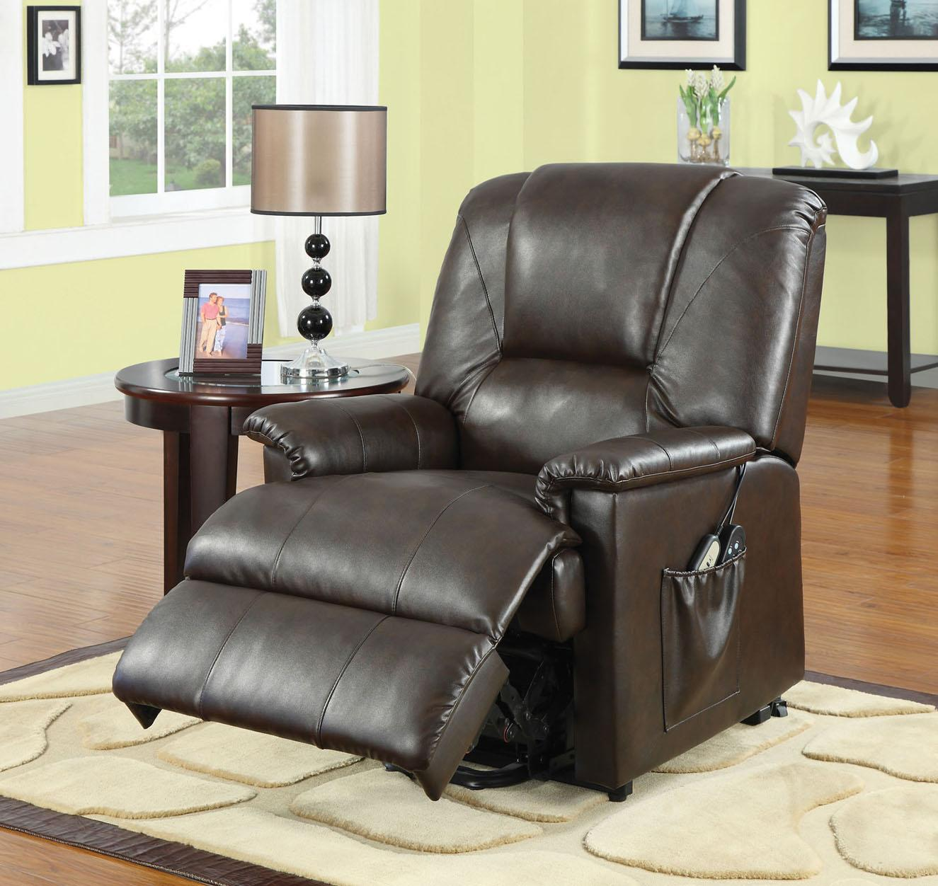 Acme Furniture Reseda  Recliner with Massage Functions - Item Number: 10652