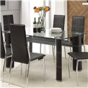 Acme Furniture Riggan Dining Table - Item Number: 70200